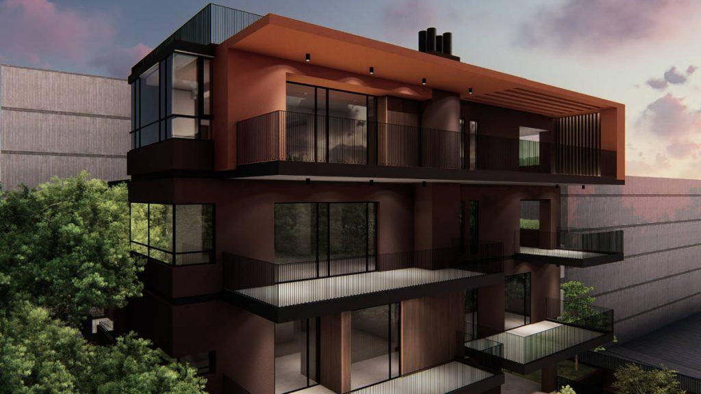 3rd floor apartment vrilissia